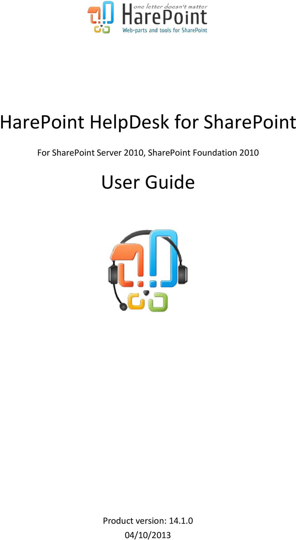 SharePint Fundatin 2010 User