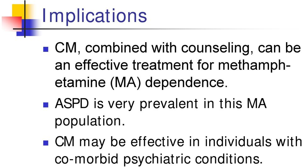 ASPD is very prevalent in this MA population.