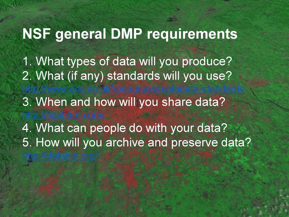 uk/resources/metadata-standards 3. When and how will you share data?