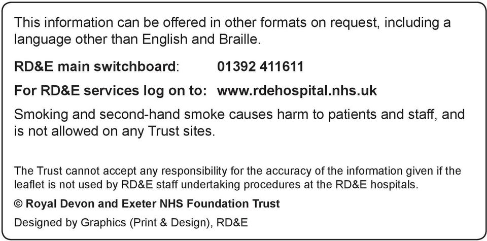 uk Smoking and second-hand smoke causes harm to patients and staff, and is not allowed on any Trust sites.