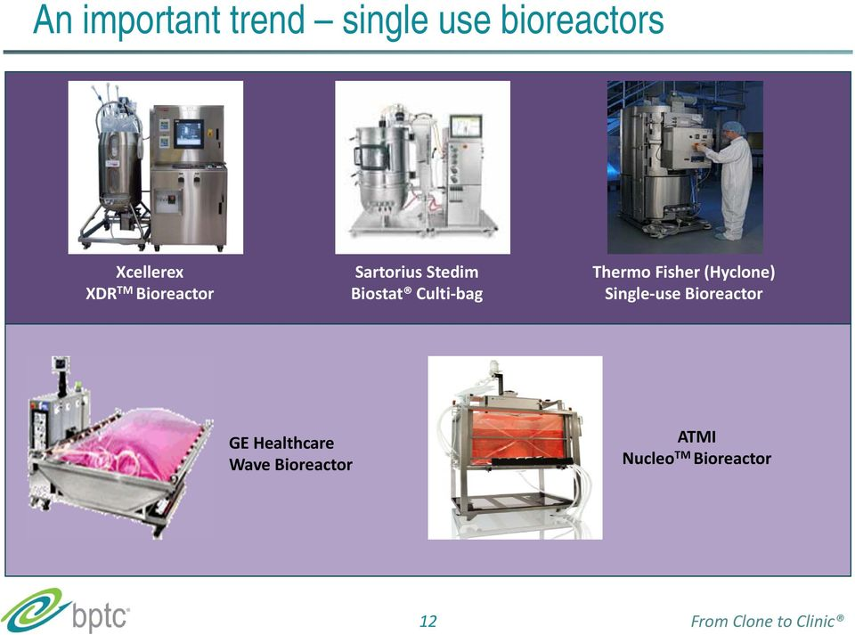 Fisher (Hyclone) Single use Bioreactor GE Healthcare Wave