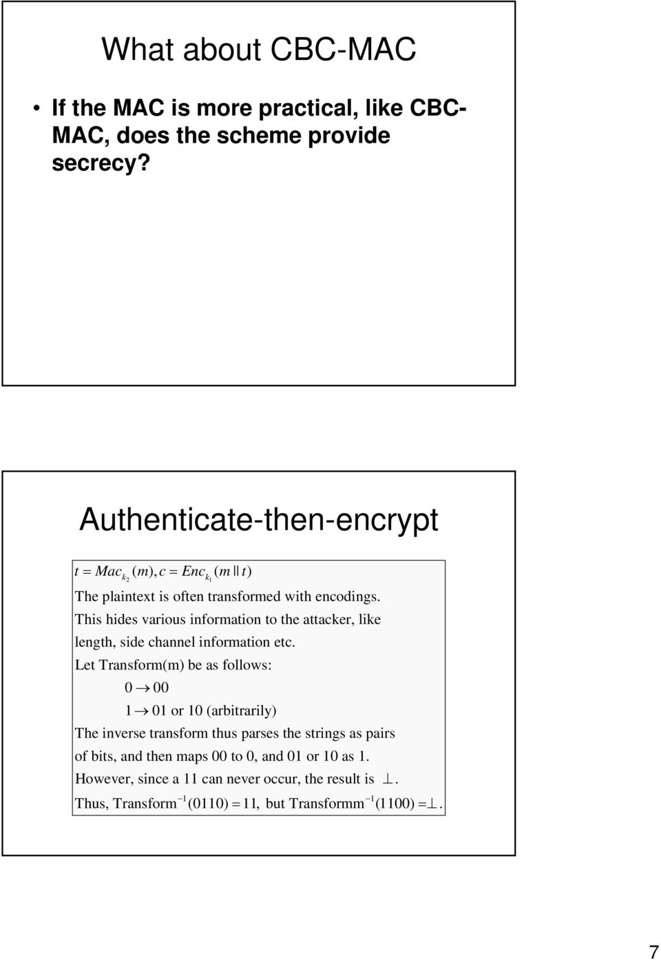 Authentication and Encryption: How to order them? Motivation - PDF