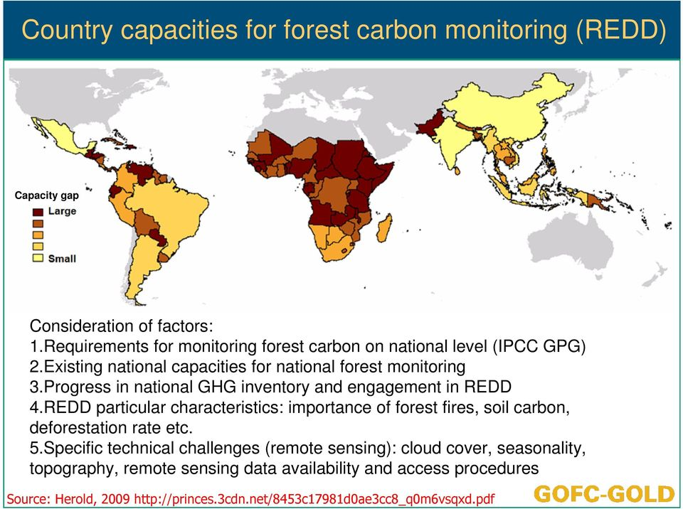 Progress in national GHG inventory and engagement in REDD 4.