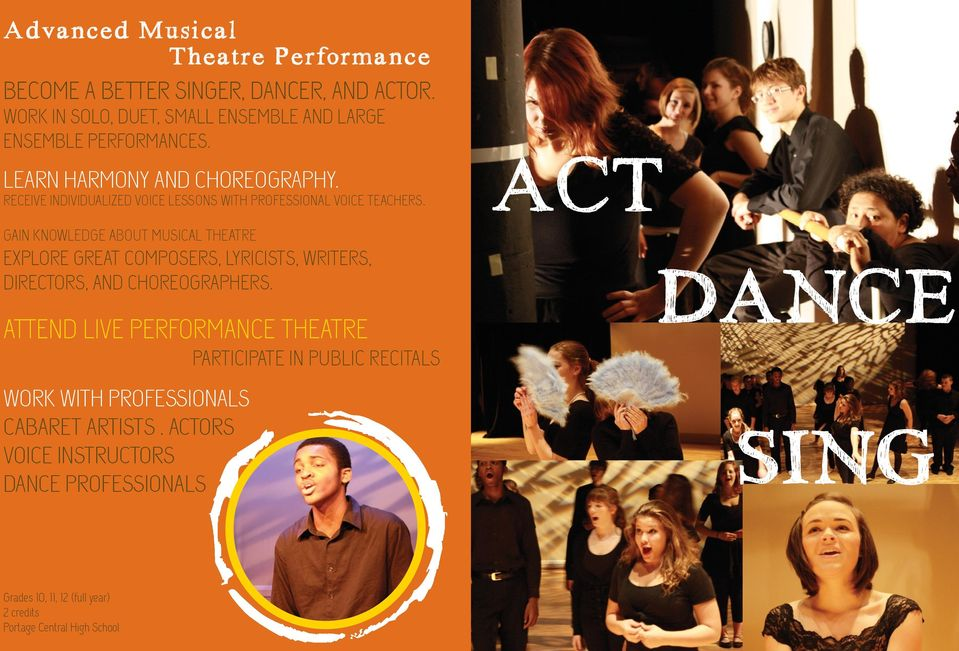 GAIN KNOWLEDGE ABOUT MUSICAL THEATRE EXPLORE GREAT COMPOSERS, LYRICISTS, WRITERS, DIRECTORS, AND CHOREOGRAPHERS.