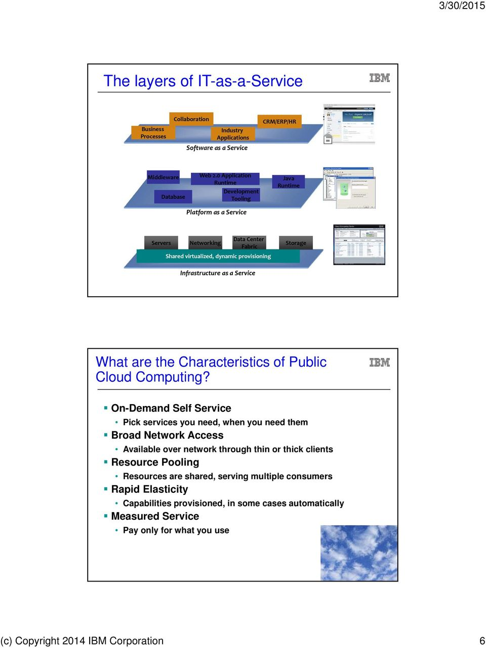 What are the Characteristics of Public Cloud Computing?
