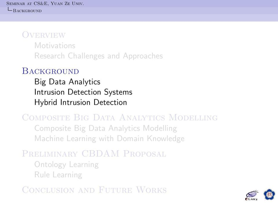 Analytics Modelling Composite Big Data Analytics Modelling Machine Learning with Domain