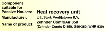 Leaving Air Temperature (LAT) from Heat Recovery Ventilator (Winter) ϑ 2, F ϑ 3, F Supply Air Leaving Exhaust Air Entering Outside Air Entering Exhaust Air Leaving ϑ 1, F ϑ 4, F ϑ 2 = ϑ 1 - Ф HR * (ϑ