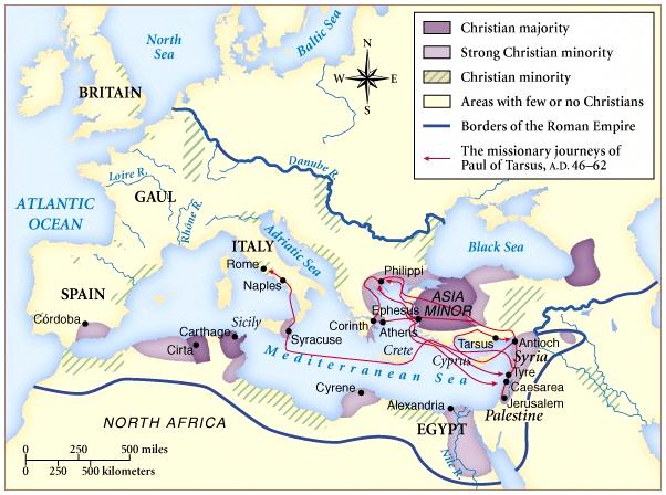 The Greatest Extent of the Roman