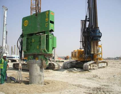 Bored Piling Saudi Foundations Operates rotary bored piling machines capable of constructing cast insitu pile of diameters ranging from 450mm