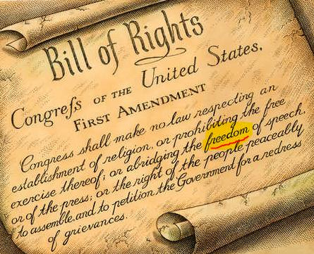 Can you crack the code that is written into the Bill of Rights?