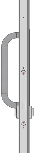 SET 3 Night Latch 19mm S/Steel Lever handle / Finger Pull Night Latch: Briton Latch (5450) GP Doors NEMEF Latch (Z6107) FR Doors Single: Furniture set to blade Cylinder Options: Single Cylinder
