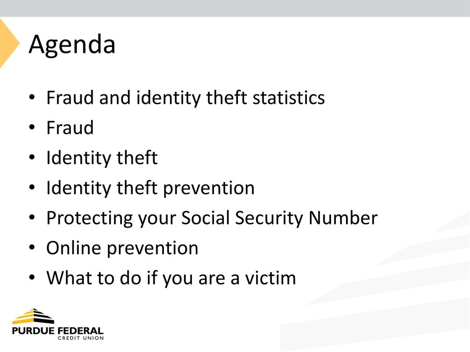 prevention Protecting your Social Security