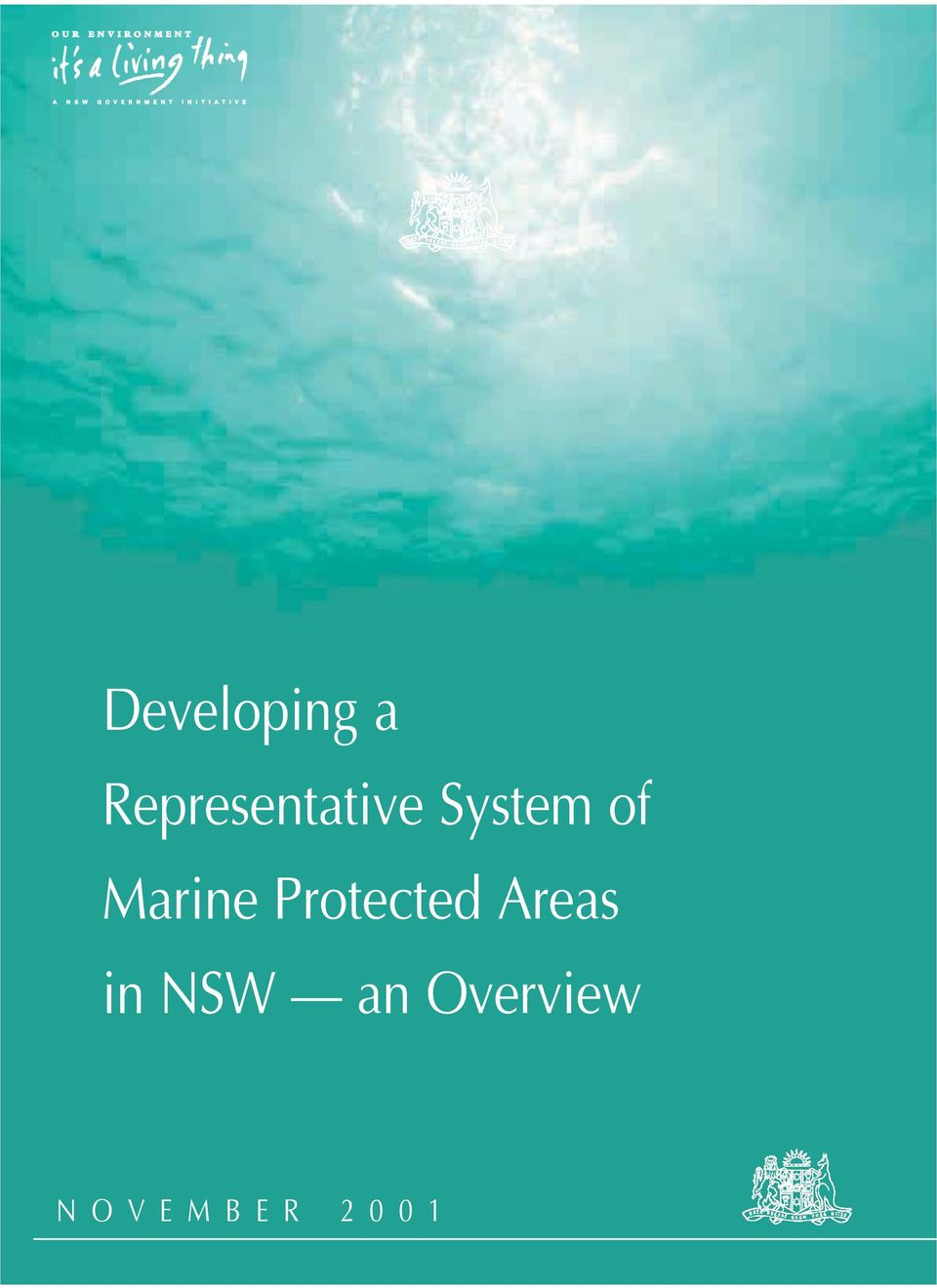Protected Areas in NSW an Overview N O V E