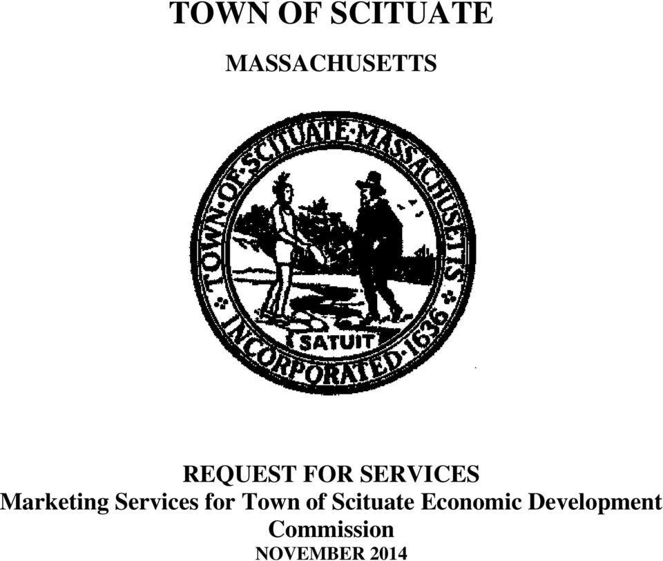 Services for Town of Scituate