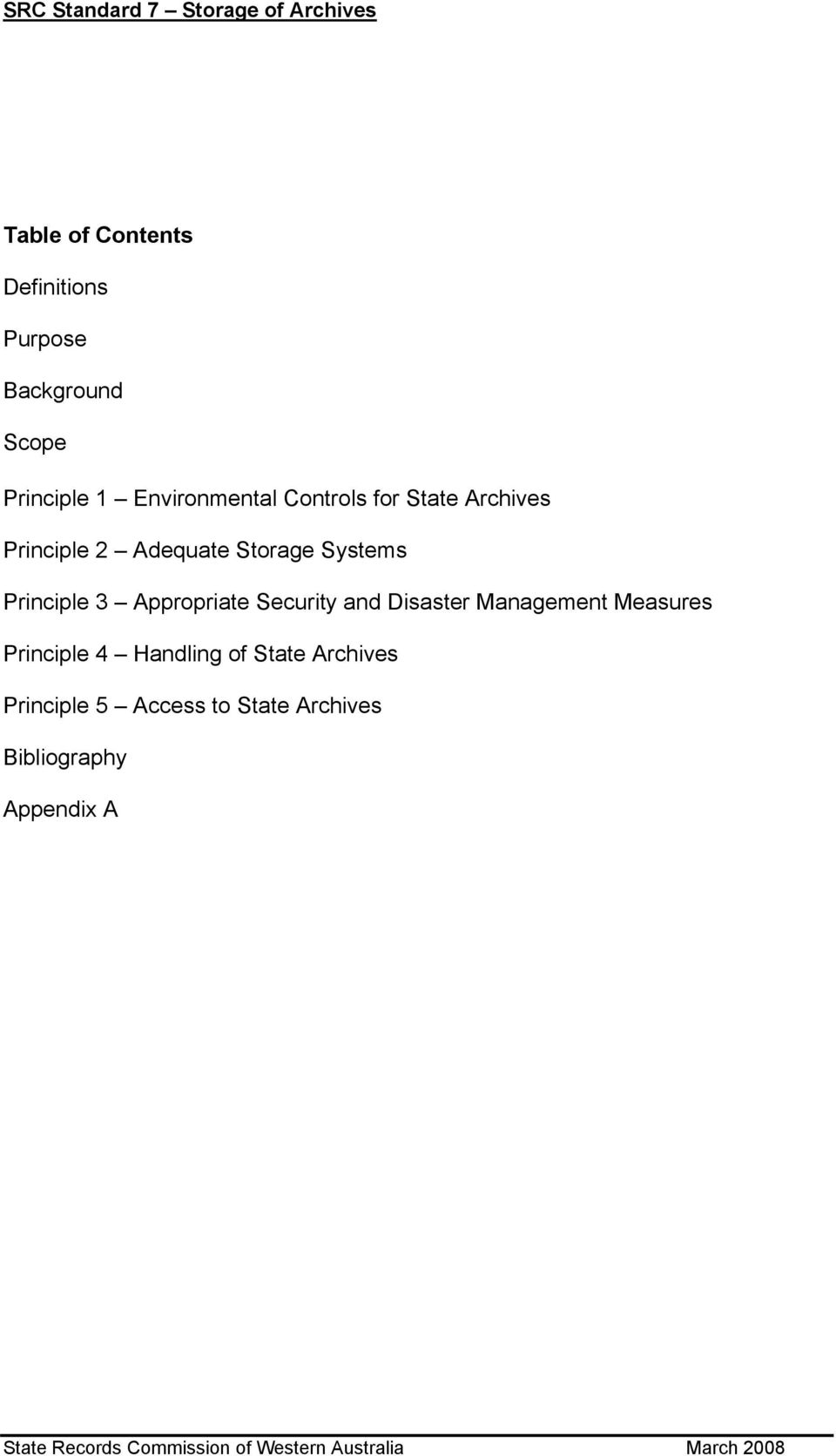 Systems Principle 3 Appropriate Security and Disaster Management Measures