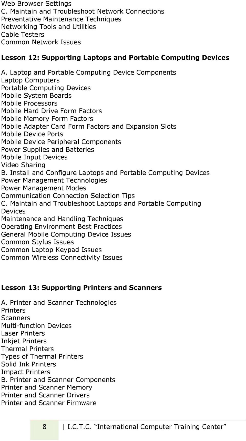 Computing Devices A.