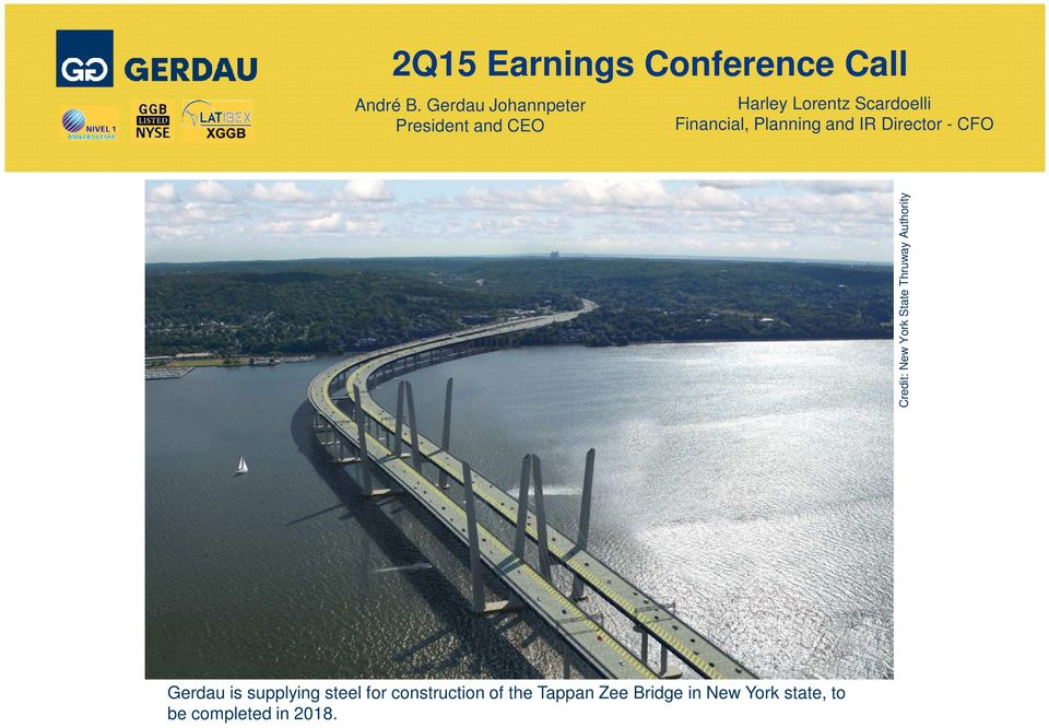 Planning and IR Director - CFO Credit: New York State Thruway Authority