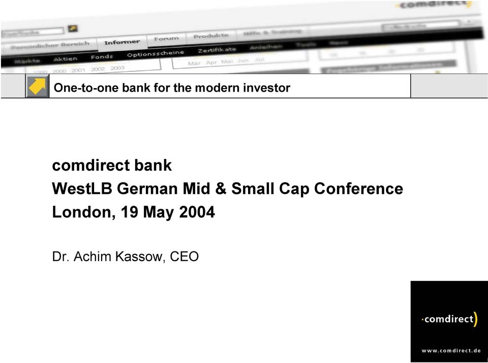 German Mid & Small Cap Conference