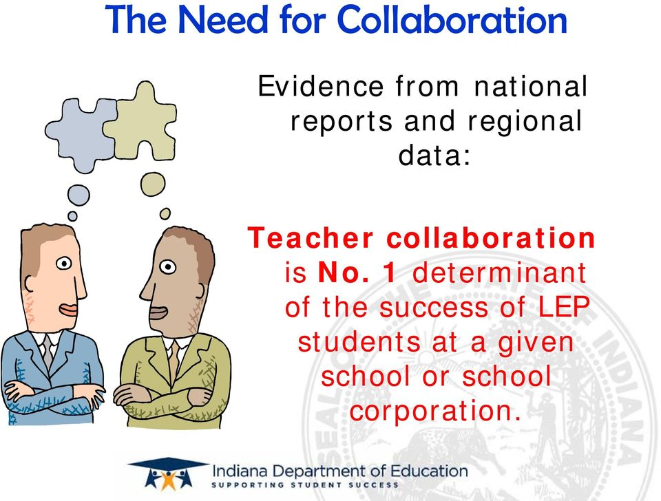 collaboration is No.