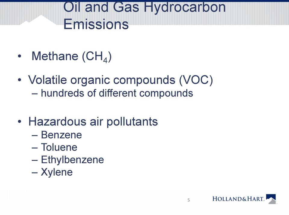 hundreds of different compounds Hazardous