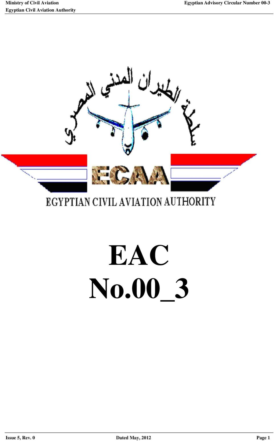 Number 00-3 EAC No.