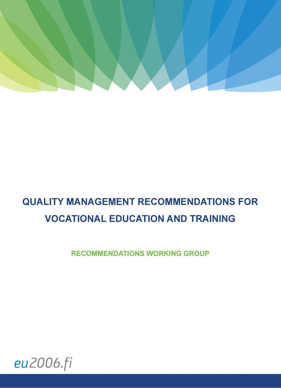 VOCATIONAL EDUCATION AND