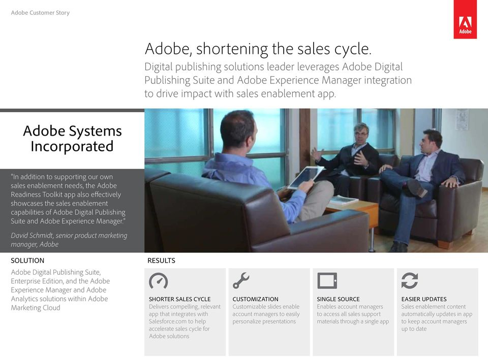 Publishing Suite and Adobe Experience Manager.