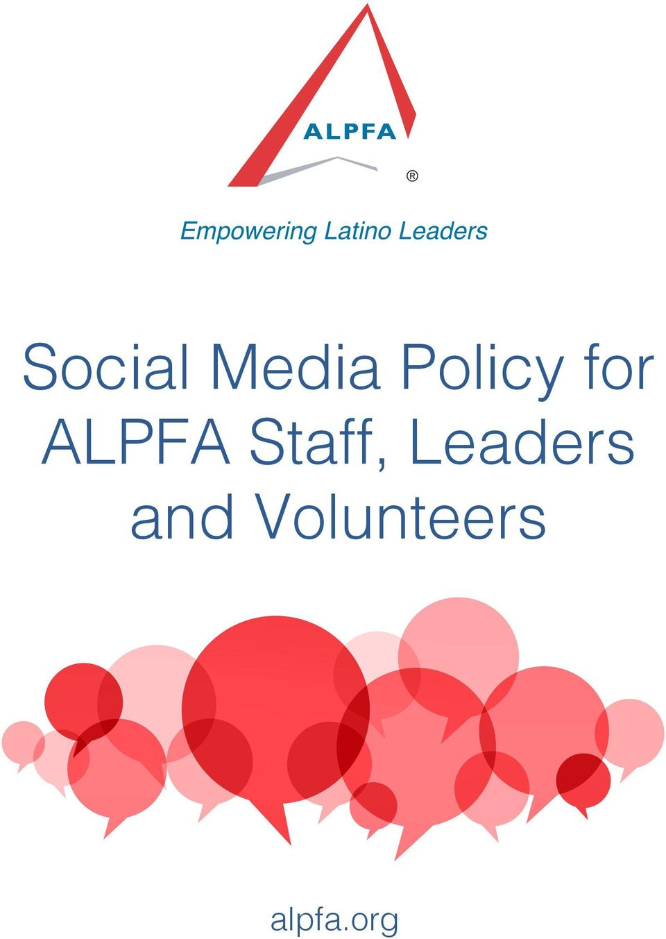 Policy for ALPFA Staff,