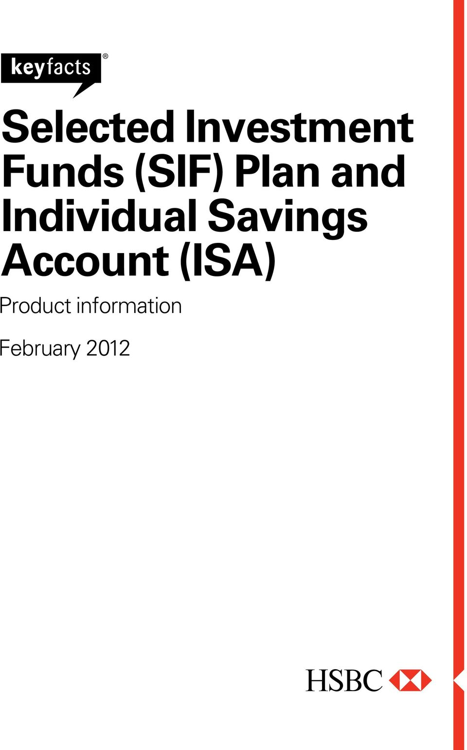 Savings Account (ISA)