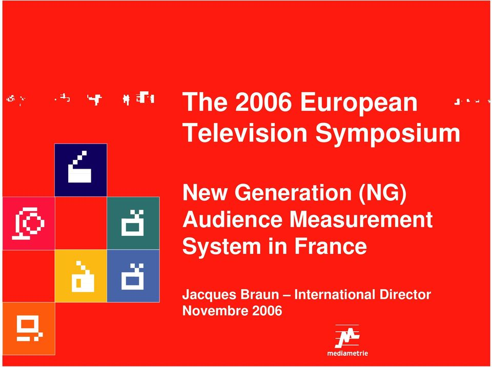 Audience Measurement System in