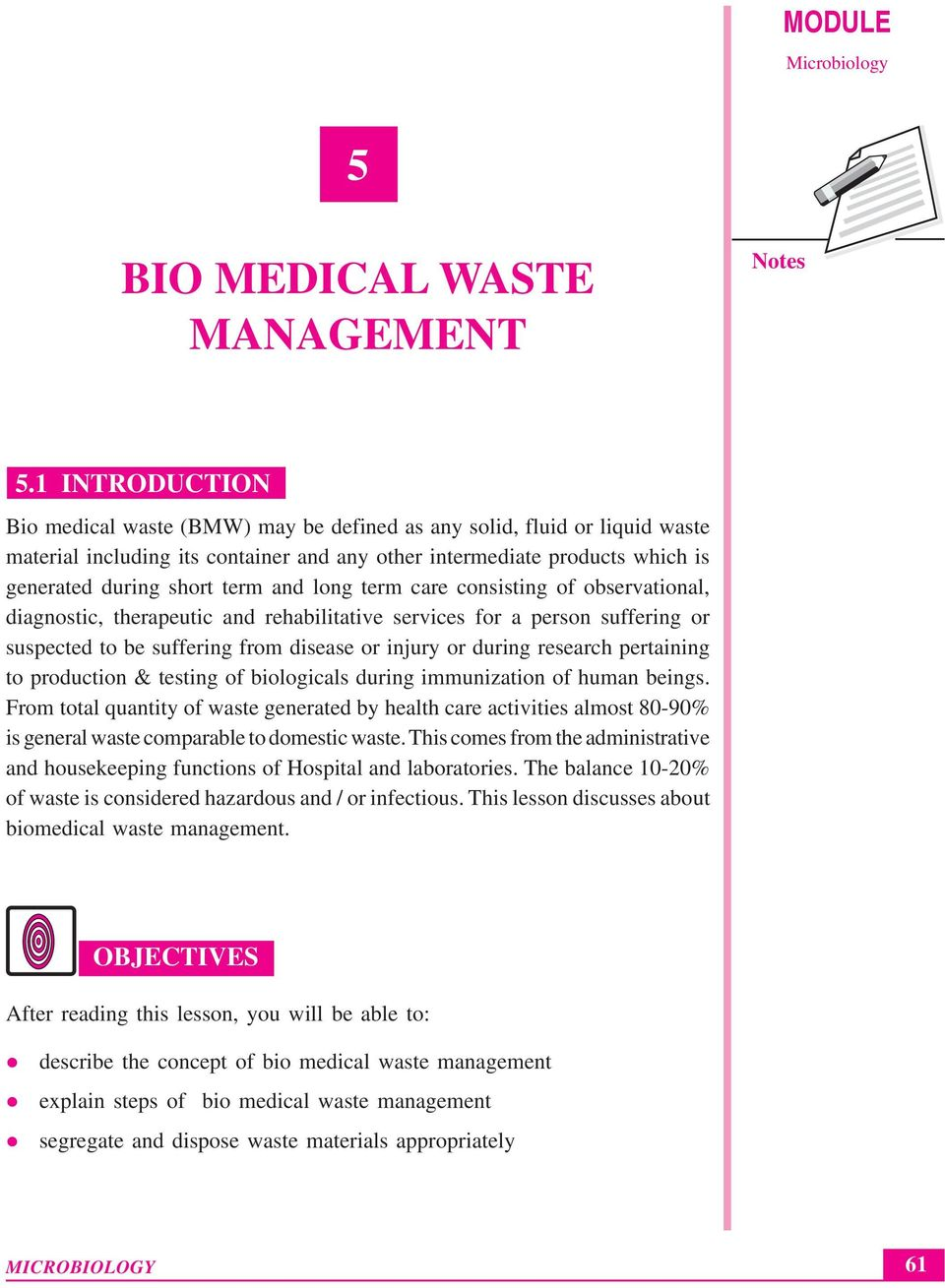 bio medical waste management Bio-medical waste management agreement  sp's failure to collect the bio-medical waste as per provisions of bio-medical waste management.