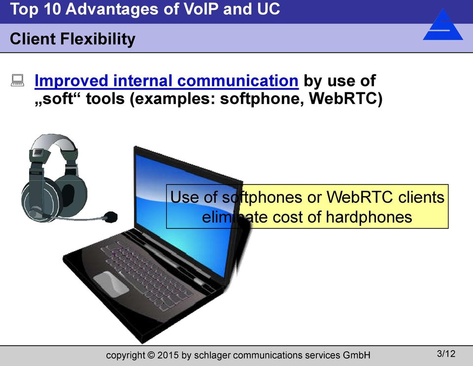 (examples: softphone, WebRTC) Use of