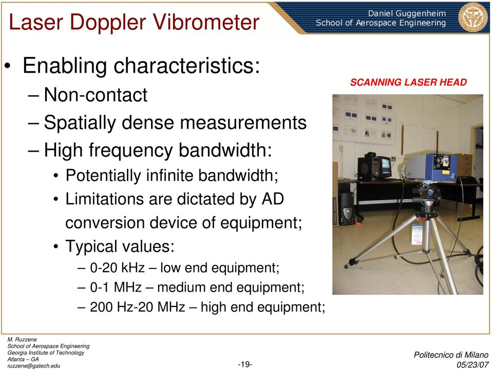 Dynamics-based Structural Health Monitoring Using Laser