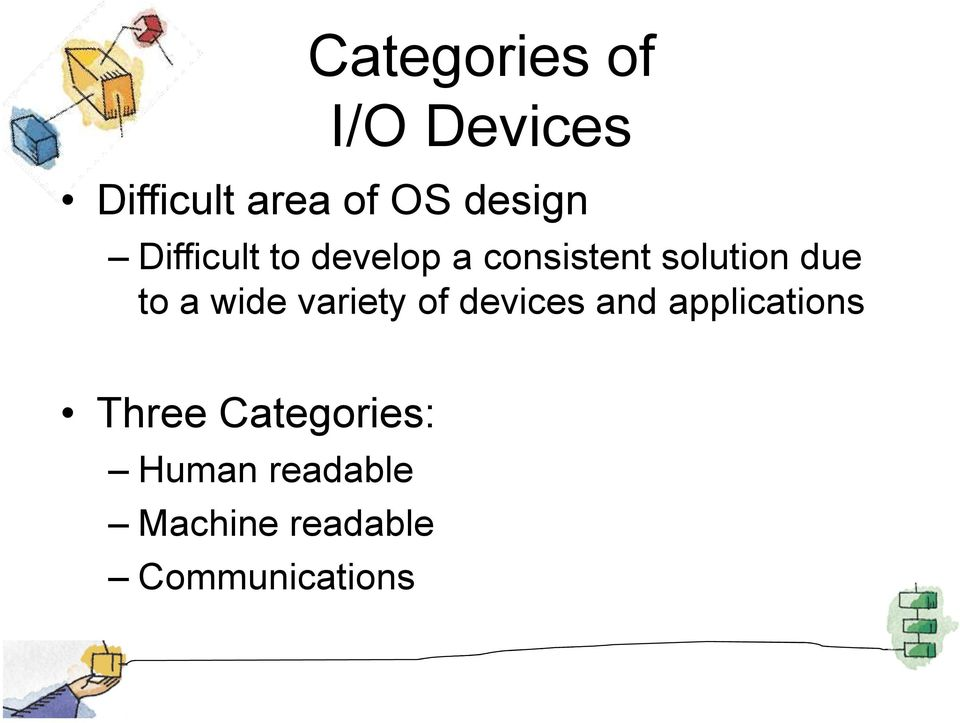 due to a wide variety of devices and applications