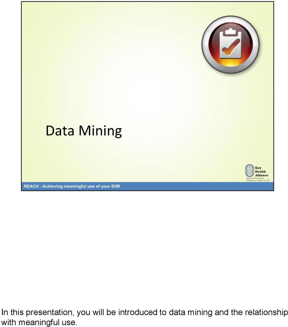 data mining and the