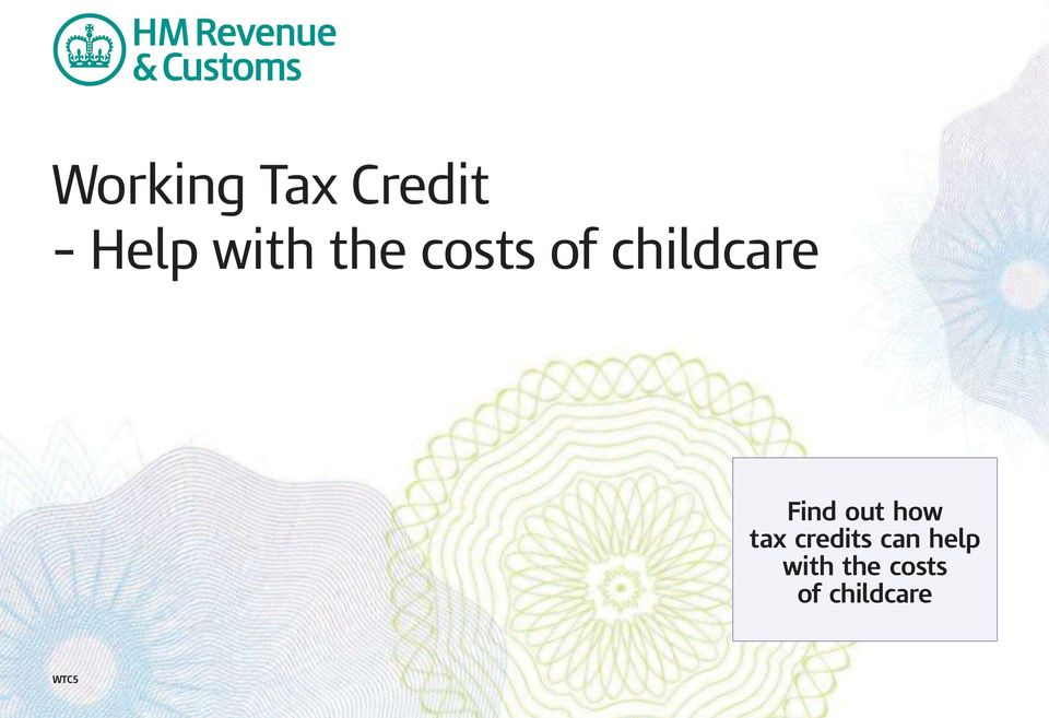 out how tax credits can help