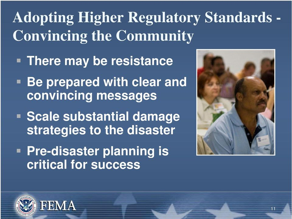 and convincing messages Scale substantial damage strategies