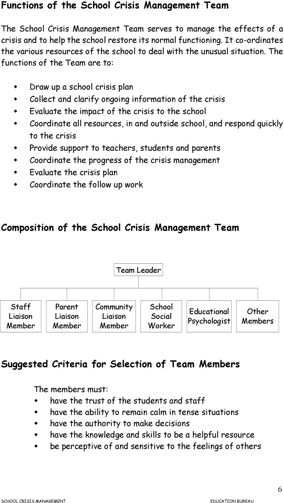 what is crisis management pdf