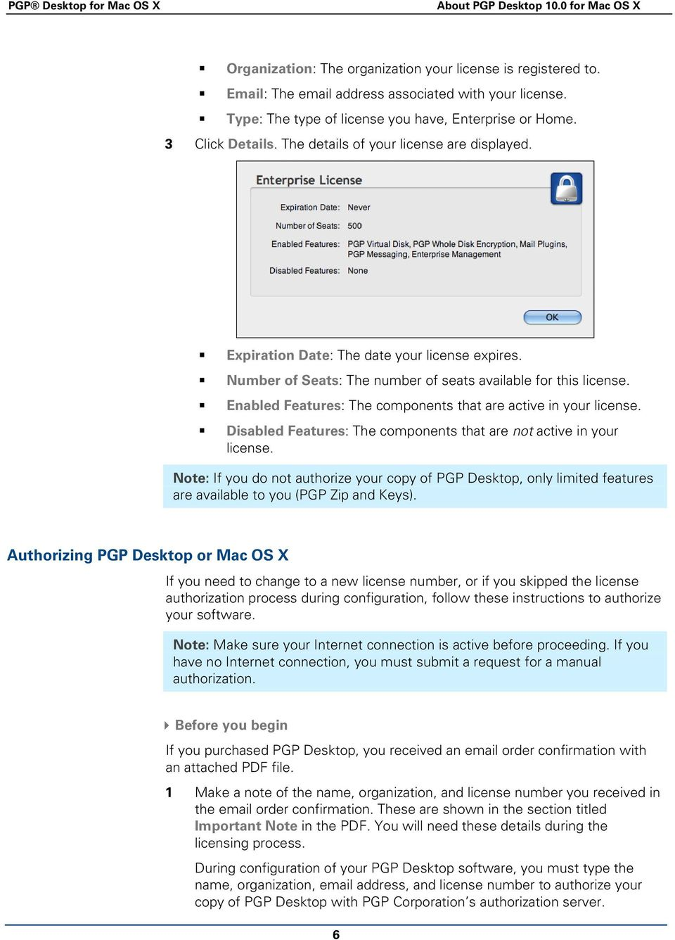 PGP Desktop for Mac OS X  User's Guide - PDF