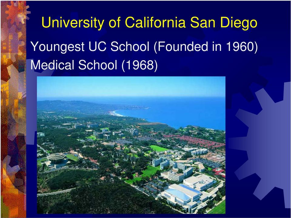 Youngest UC School