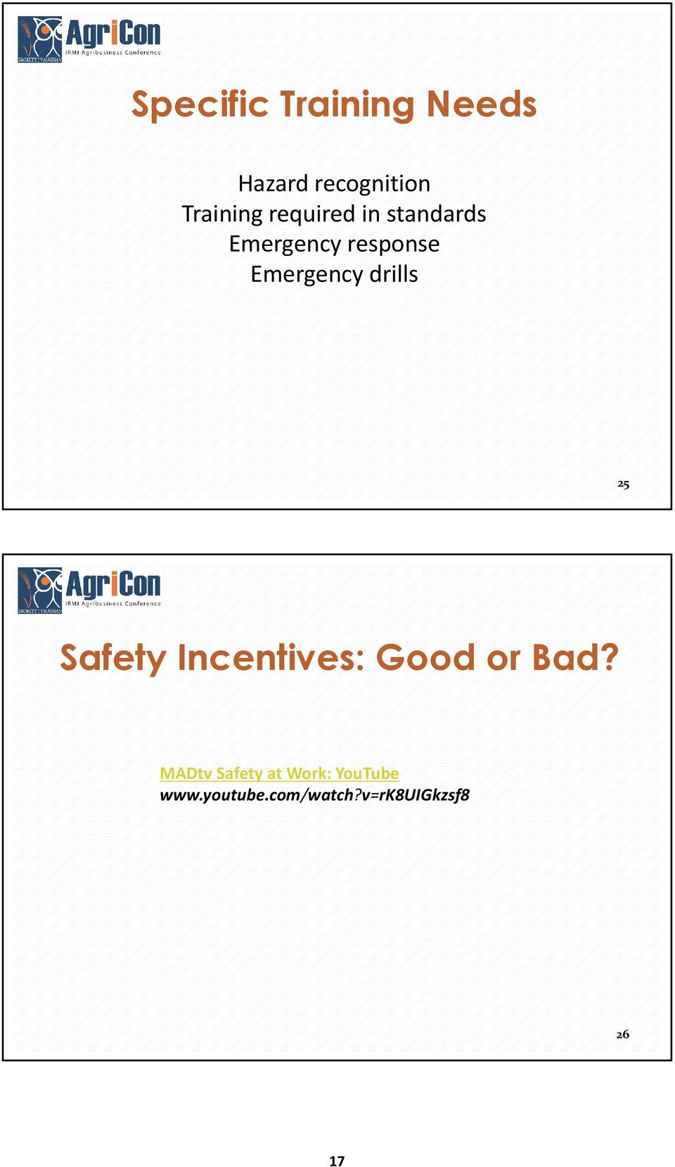 drills 25 Safety Incentives: Good or Bad?