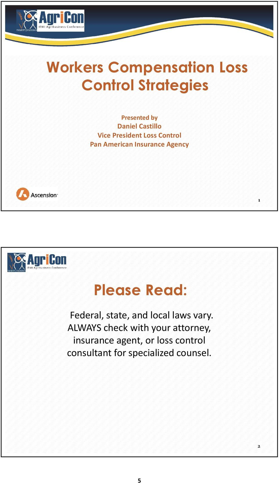 Please Read: Federal, state, and local laws vary.