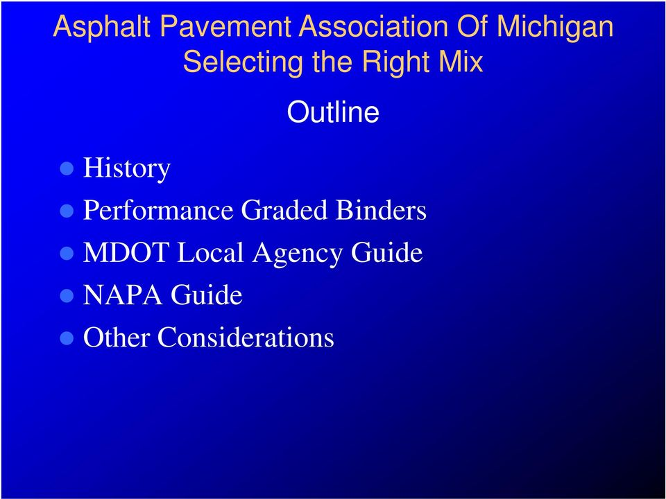 Local Agency Guide NAPA