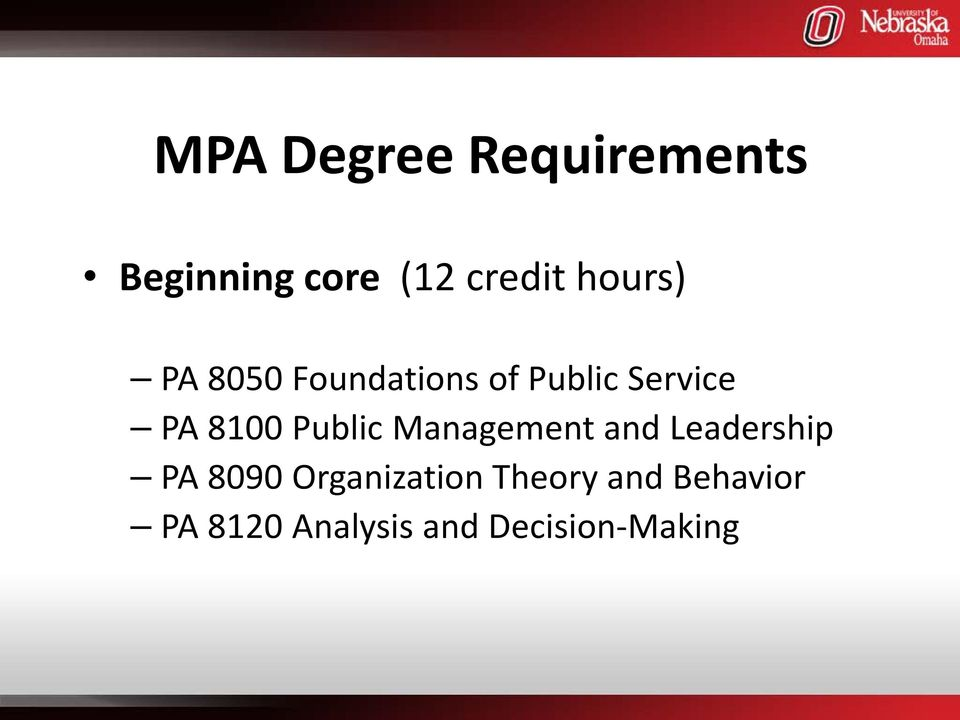 Public Management and Leadership PA 8090 Organization