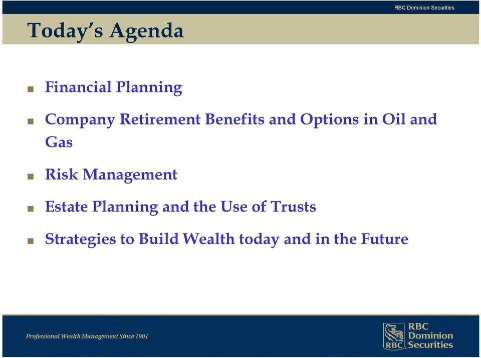 Risk Management Estate Planning and the Use of