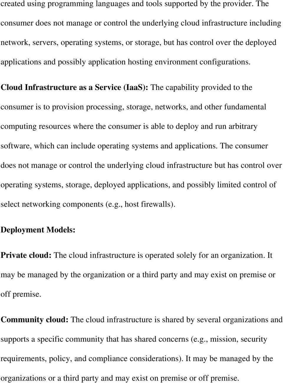 application hosting environment configurations.
