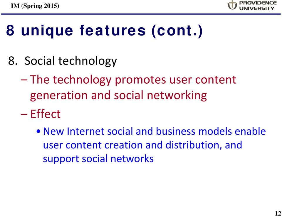 generation and social networking Effect New Internet social