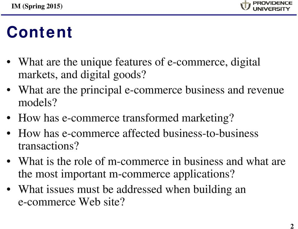 How has e-commerce affected business-to-business transactions?