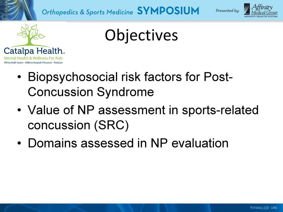 NP assessment in sports-related