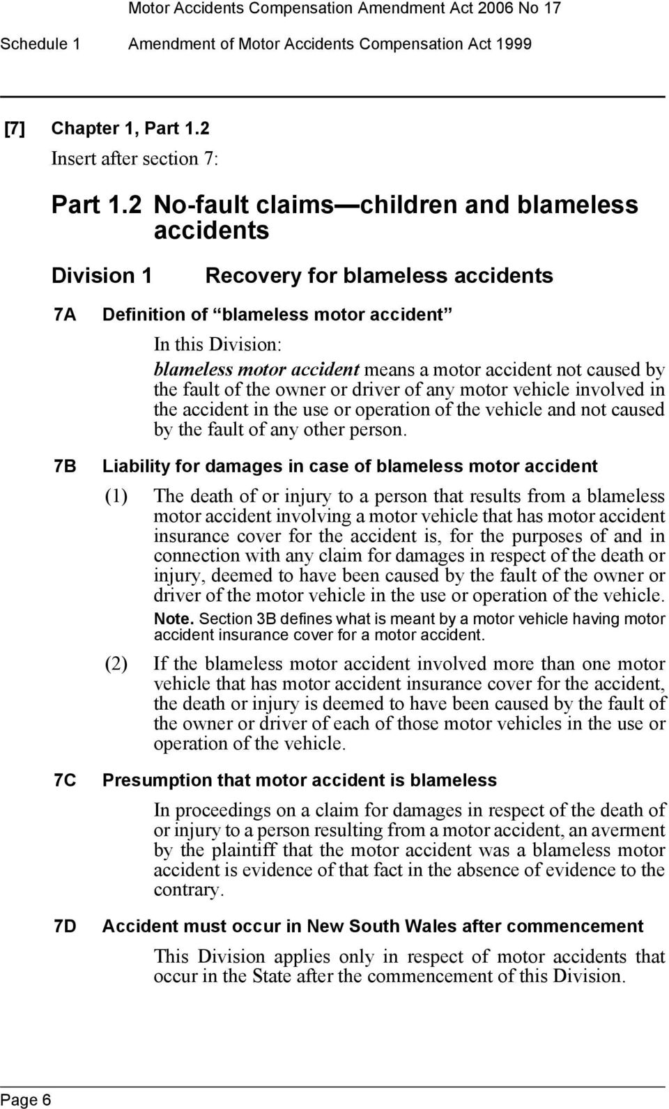 motor accident not caused by the fault of the owner or driver of any motor vehicle involved in the accident in the use or operation of the vehicle and not caused by the fault of any other person.